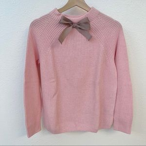 NWOT J. Crew Gayle Bow Sweater
